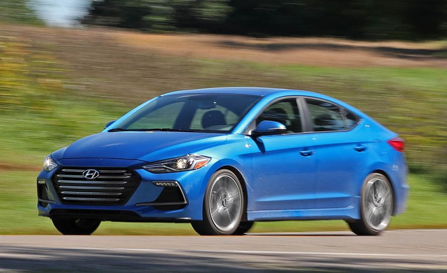2017 hyundai elantra sport first drive review car and driver. Black Bedroom Furniture Sets. Home Design Ideas