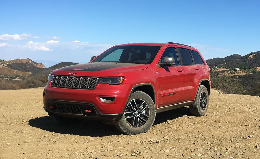 2017 Jeep Grand Cherokee Trailhawk V 6