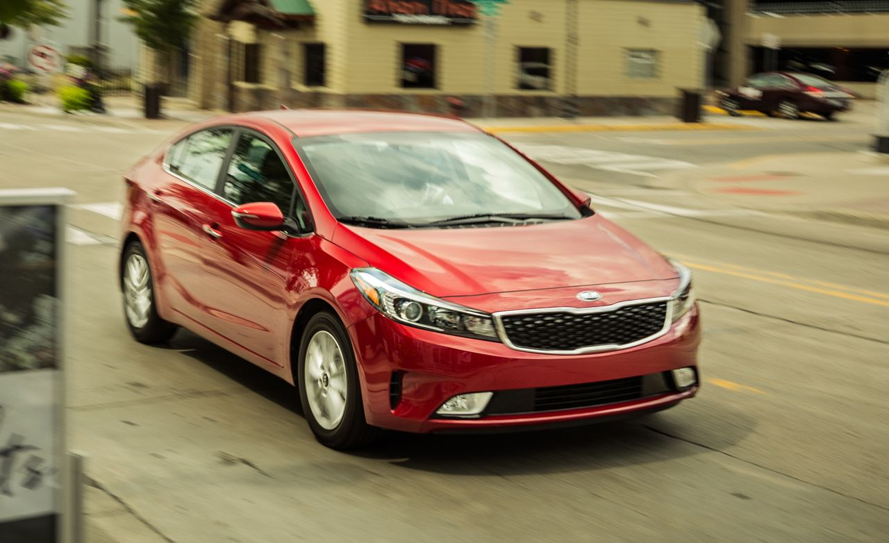 2017 Kia Forte Forte5 In Depth Model Review Car And Driver