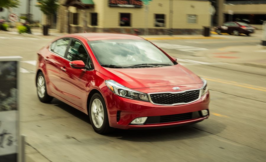 2017 kia forte s instrumented test review car and driver. Black Bedroom Furniture Sets. Home Design Ideas