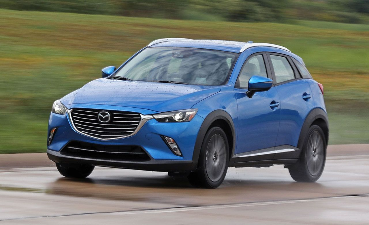 2017 Mazda Cx 3 Review Car And Driver