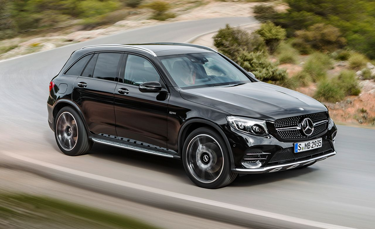 2017 mercedes-amg glc43 first drive – reviews – car and driver
