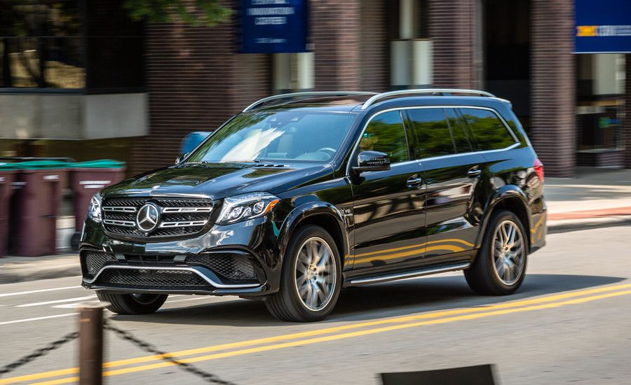 2017 Mercedes Amg Gls63 4matic Test Review Car And Driver