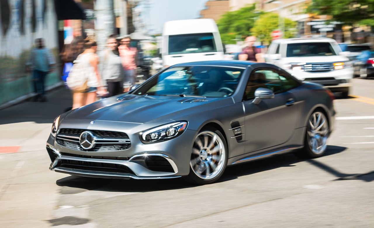 mercedes amg sl63 sl65 reviews mercedes amg sl63 sl65 price photos and specs car and. Black Bedroom Furniture Sets. Home Design Ideas