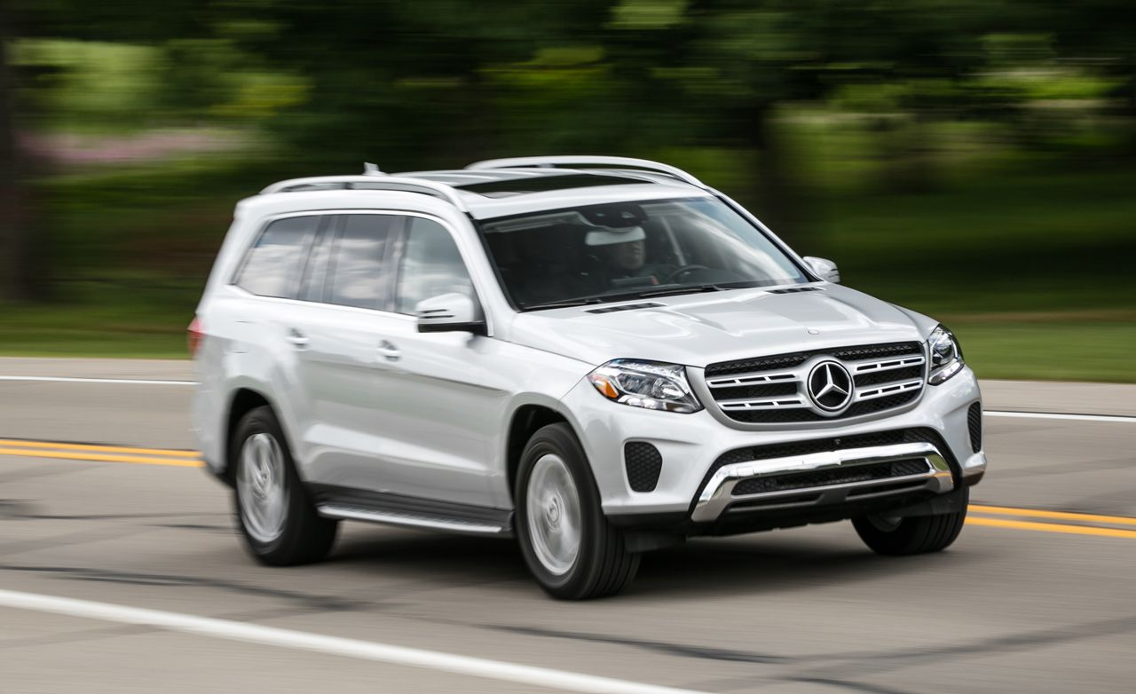 2017 Mercedes Benz Gls450 4matic >> 2017 Mercedes-Benz GLS450 Test | Review | Car and Driver