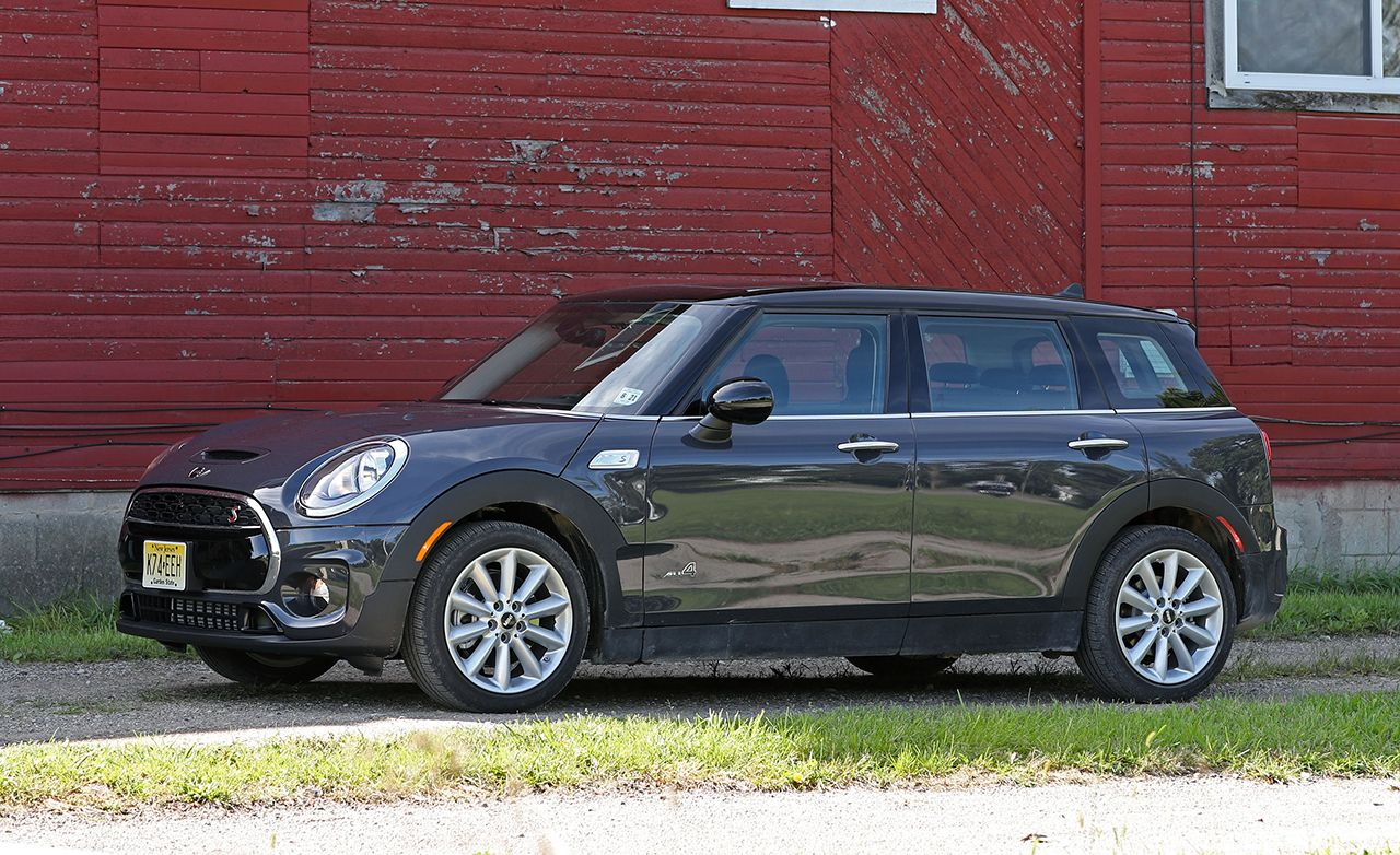2017 mini cooper s clubman all4 test review car and driver. Black Bedroom Furniture Sets. Home Design Ideas