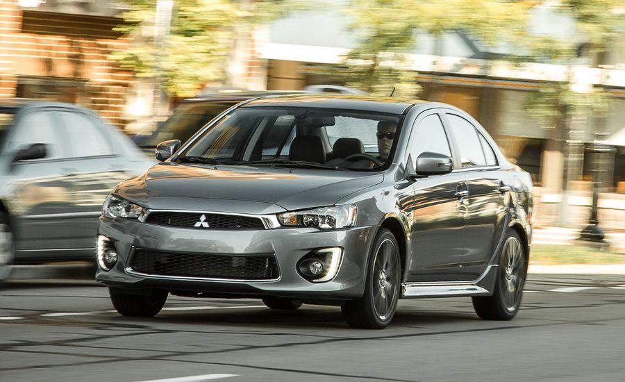 2017 Mitsubishi Lancer Awd Tested Review Car And Driver