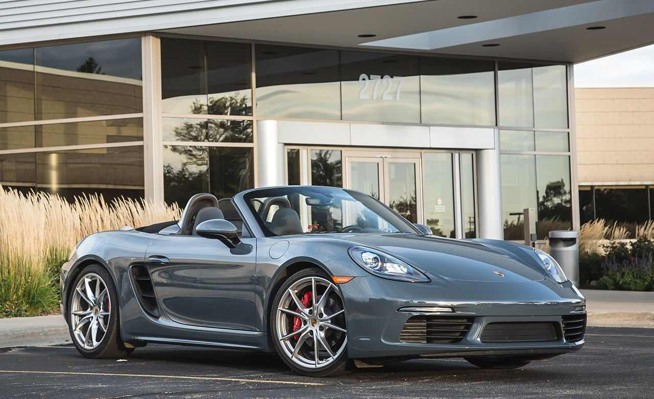 2017 porsche 718 boxster s pdk automatic test review. Black Bedroom Furniture Sets. Home Design Ideas