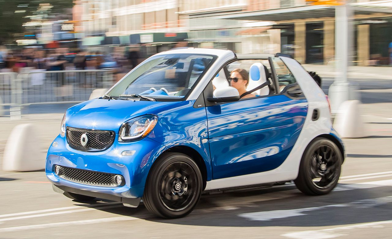2017 Smart Fortwo Cabriolet U S Spec First Drive Review Car And Driver