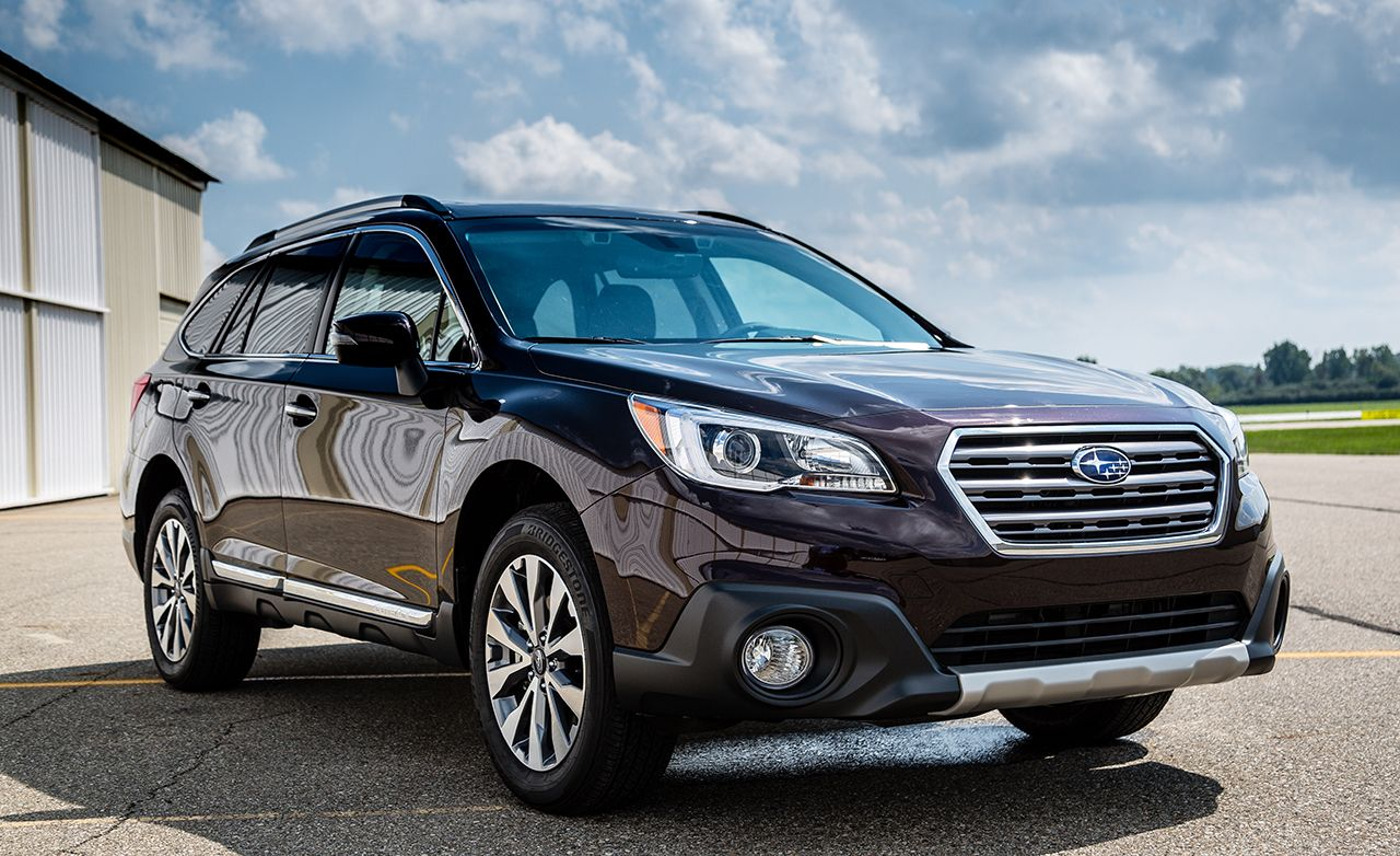 2017 subaru outback 3 6r touring review car and driver. Black Bedroom Furniture Sets. Home Design Ideas