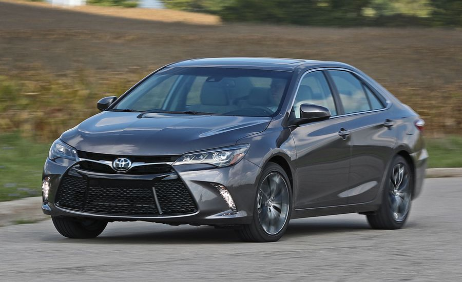 2017 toyota camry xse v 6 test review car and driver. Black Bedroom Furniture Sets. Home Design Ideas