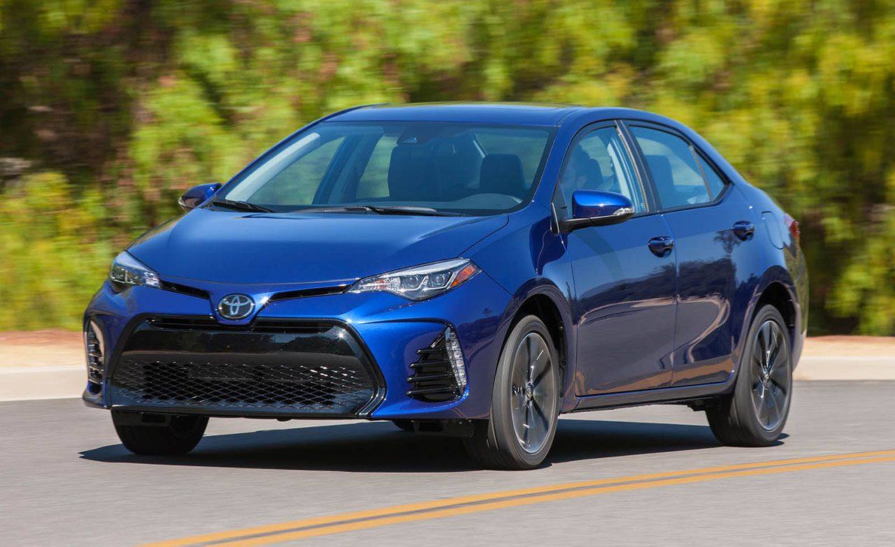 2017 Toyota Corolla First Drive Review Car And Driver