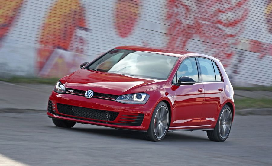 2017 Volkswagen Golf Gti Manual