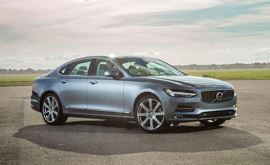 2017 volvo s90 awd tested review car and driver. Black Bedroom Furniture Sets. Home Design Ideas