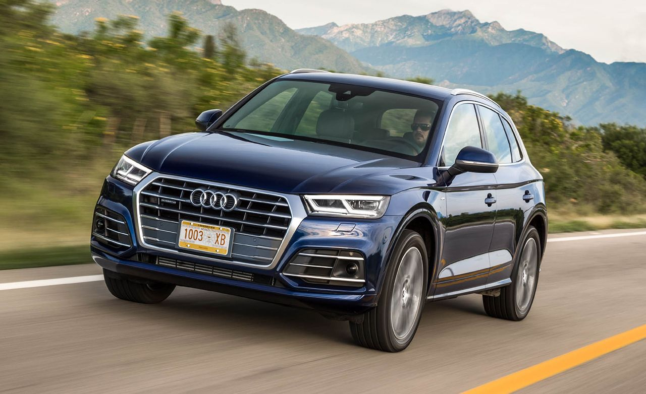2018 Audi Q5 First Drive Review Car And Driver