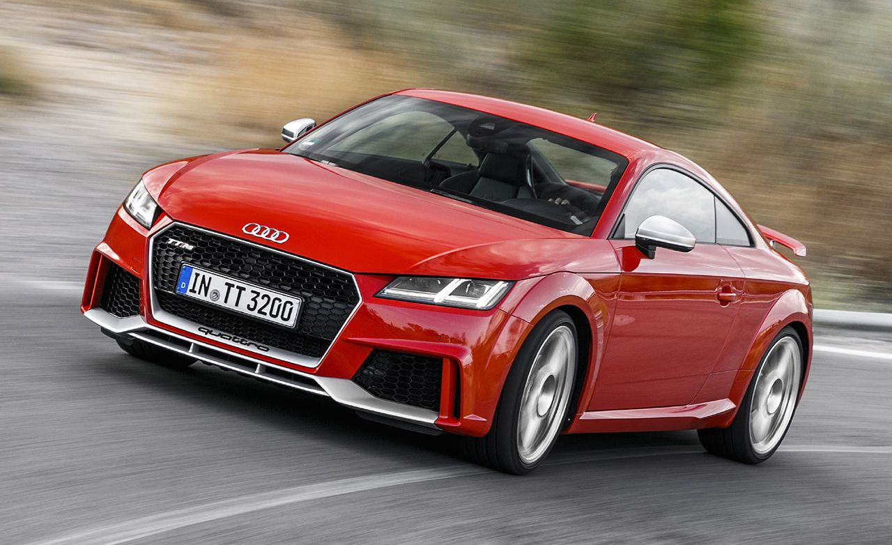 2018 audi tt rs coupe first drive review car and driver rh caranddriver com Audi TT RS Specifications TT RS Roadster