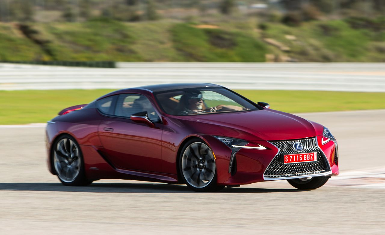 2018 Lexus Lc500 Lc500h First Drive Review Car And Driver