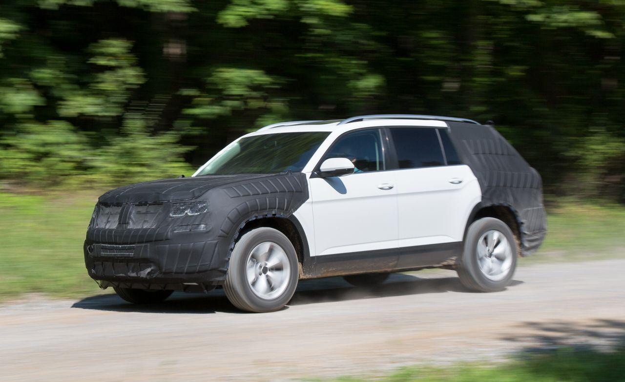 Volkswagen Atlas Reviews Volkswagen Atlas Price Photos And