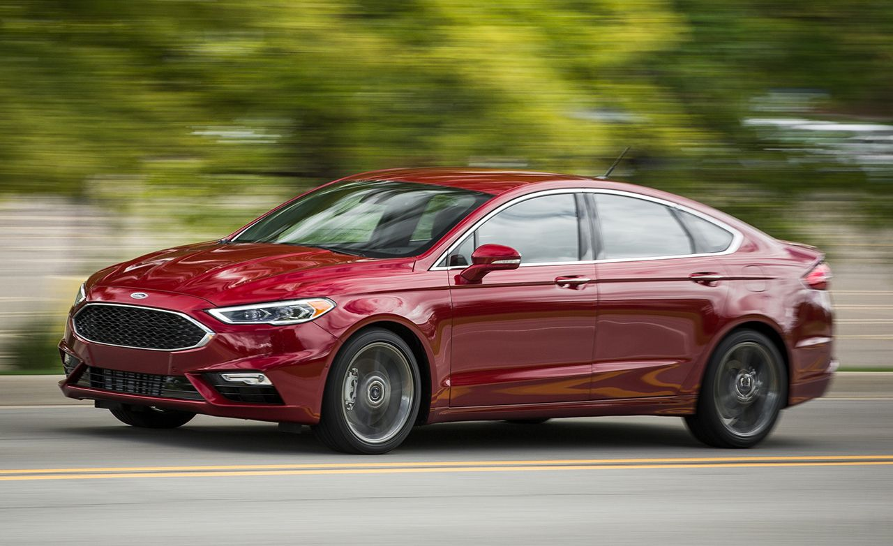 Tested 2017 Ford Fusion Sport Review Car And Driver