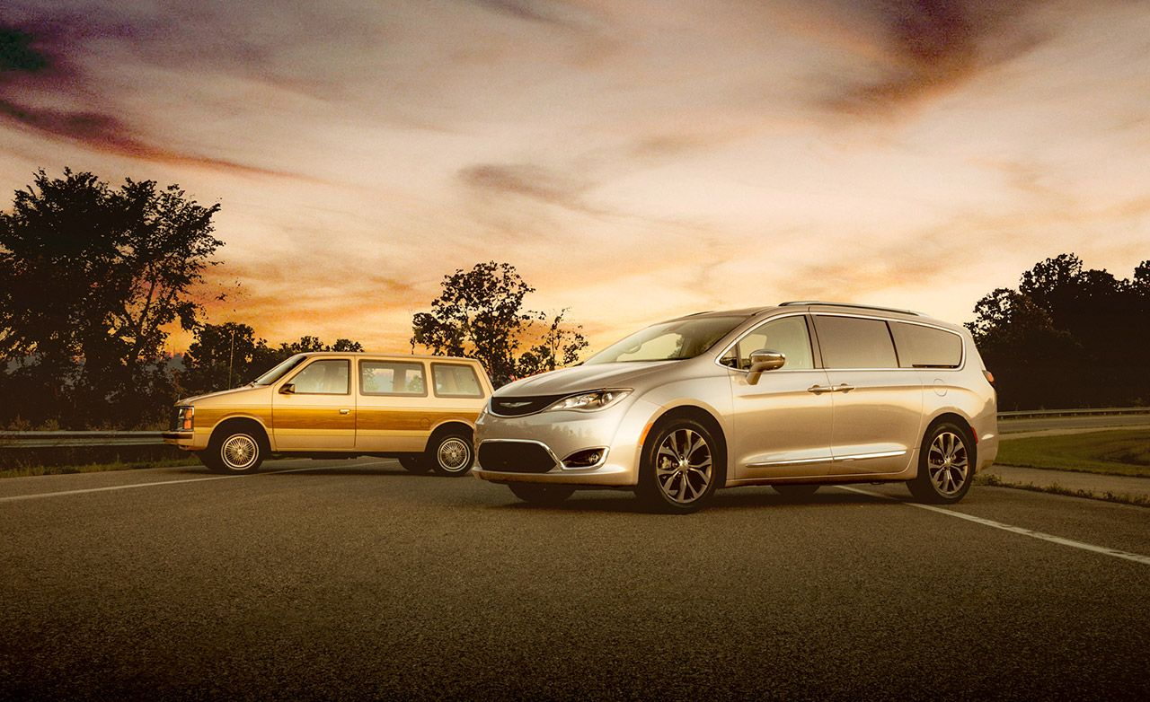 Voyager to the Pacifica: 2017 Chrysler Pacifica vs. 1984 Plymouth Voyager