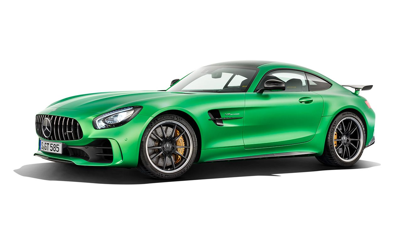 2017 mercedes amg gt r dissected feature car and driver for Mercedes benz f1 shop