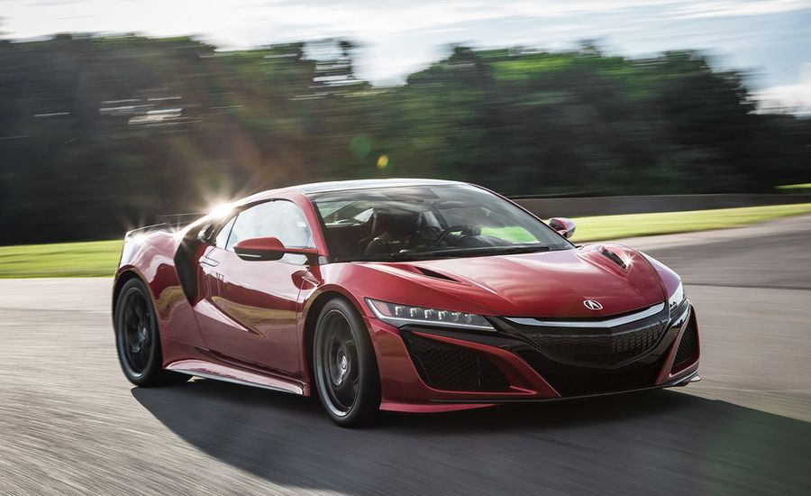 acura nsx at lightning lap 2016 feature car and driver. Black Bedroom Furniture Sets. Home Design Ideas