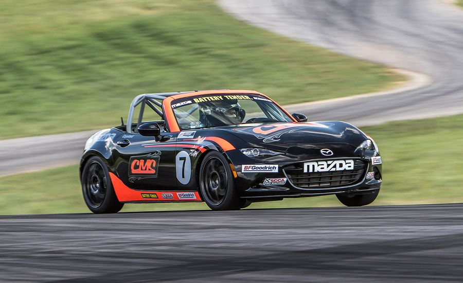 Copeland Motorsports Mazda MX-5 Miata Cup Car at Lightning Lap 2016 ...