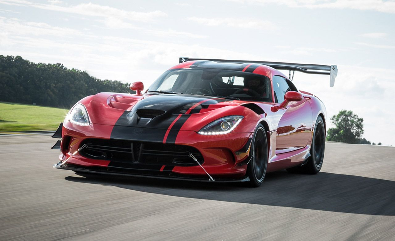 Dodge Viper Acr At Lightning Lap 2016 Feature Car And