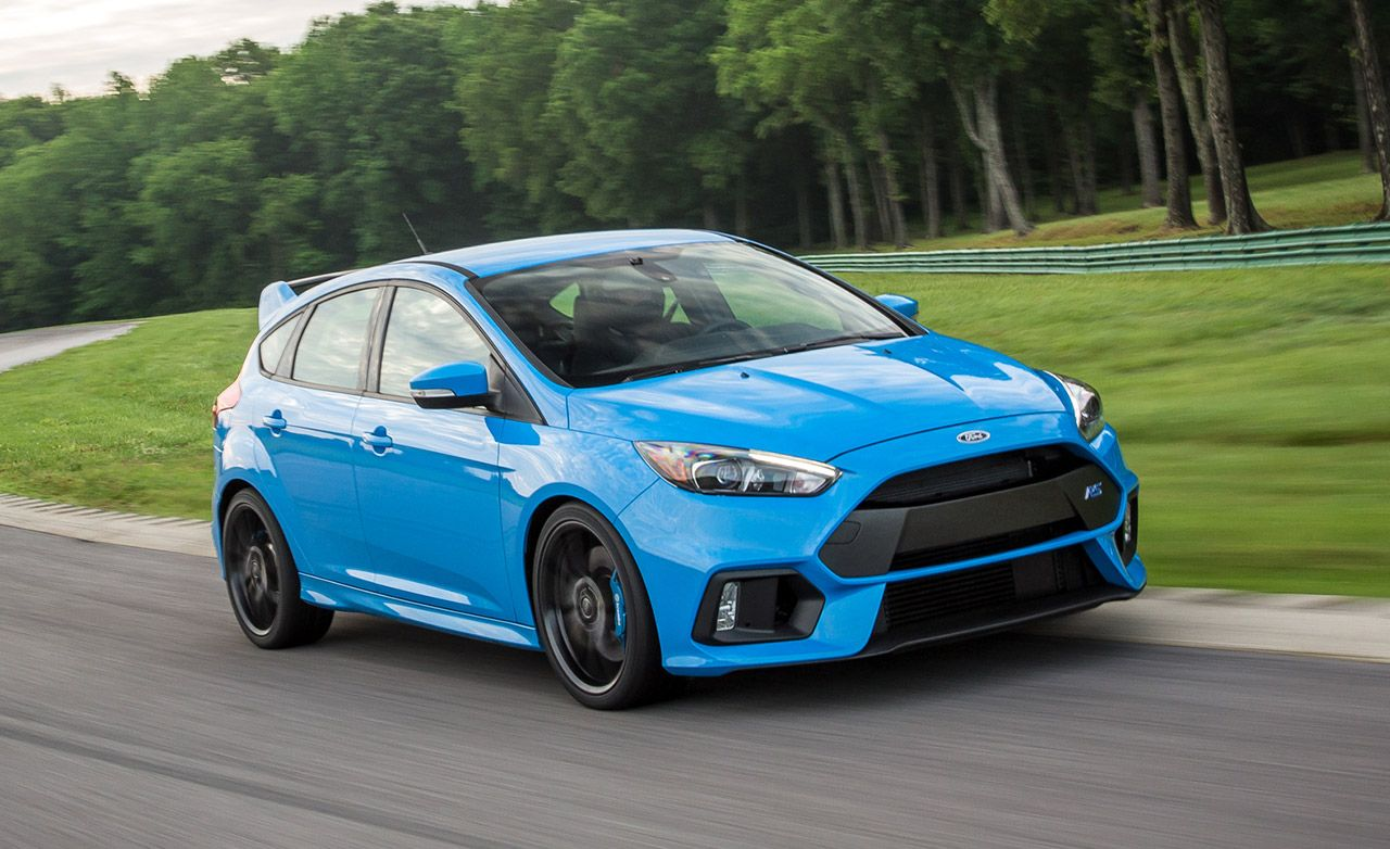 Ford focus rs reviews ford focus rs price photos and specs car and driver