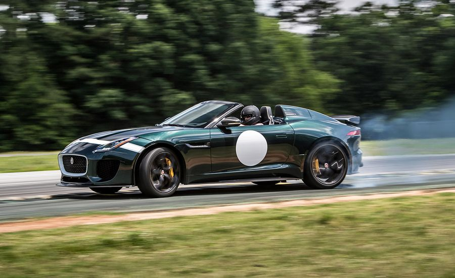 Lightning Lap 2016: Jaguar F-type Project 7