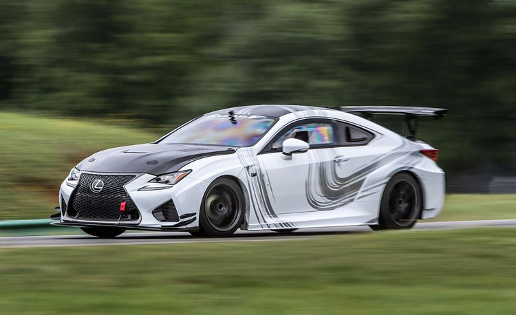 The Un-Lexus: Lexus RC F GT Concept Lapped at VIR!