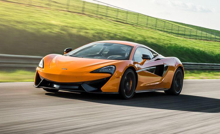 Lightning Lap 2016: McLaren 570S