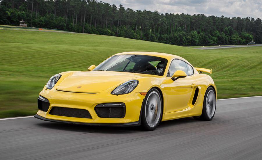 Lightning Lap 2016: Porsche Cayman GT4