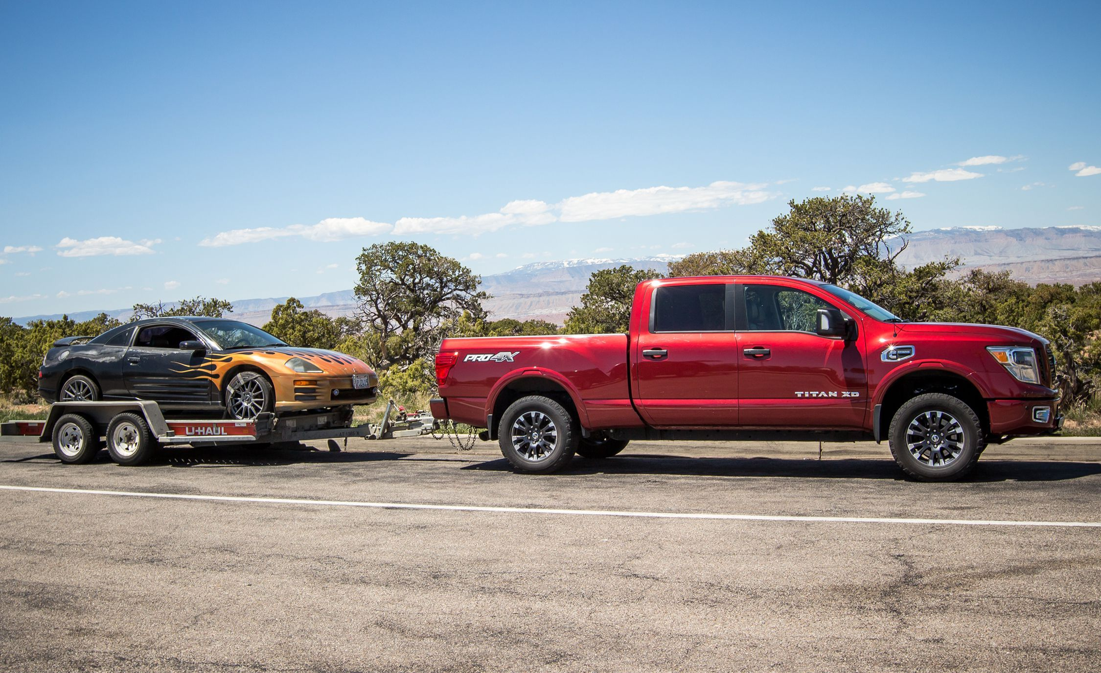2016 Nissan Titan Xd Long Term Test Review Car And Driver