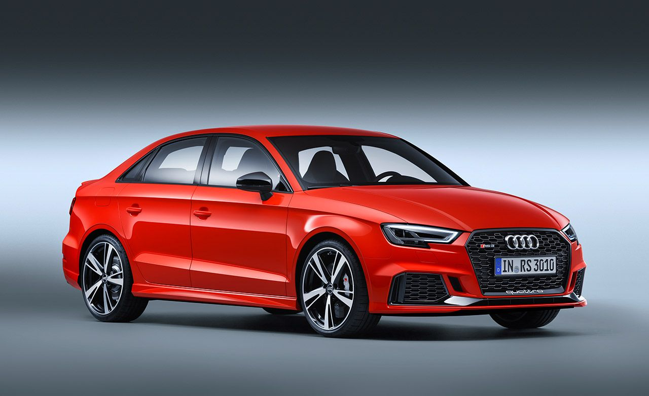 2018 Audi RS3 Sedan Dissected: Powertrain, Styling, and More