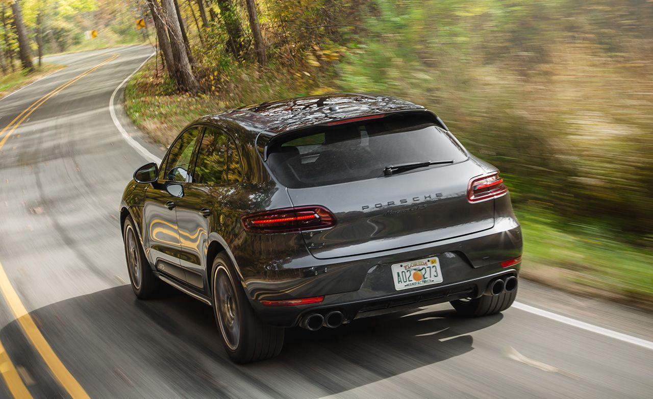 Best Compact Luxury SUV: Porsche Macan