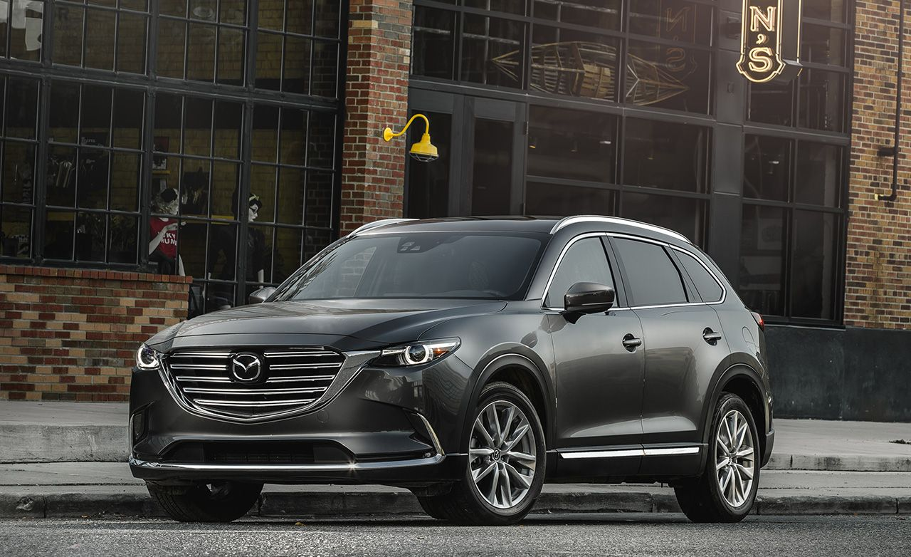 Best MidSize SUV Mazda CX9  2017 10Best Trucks and SUVs  Car