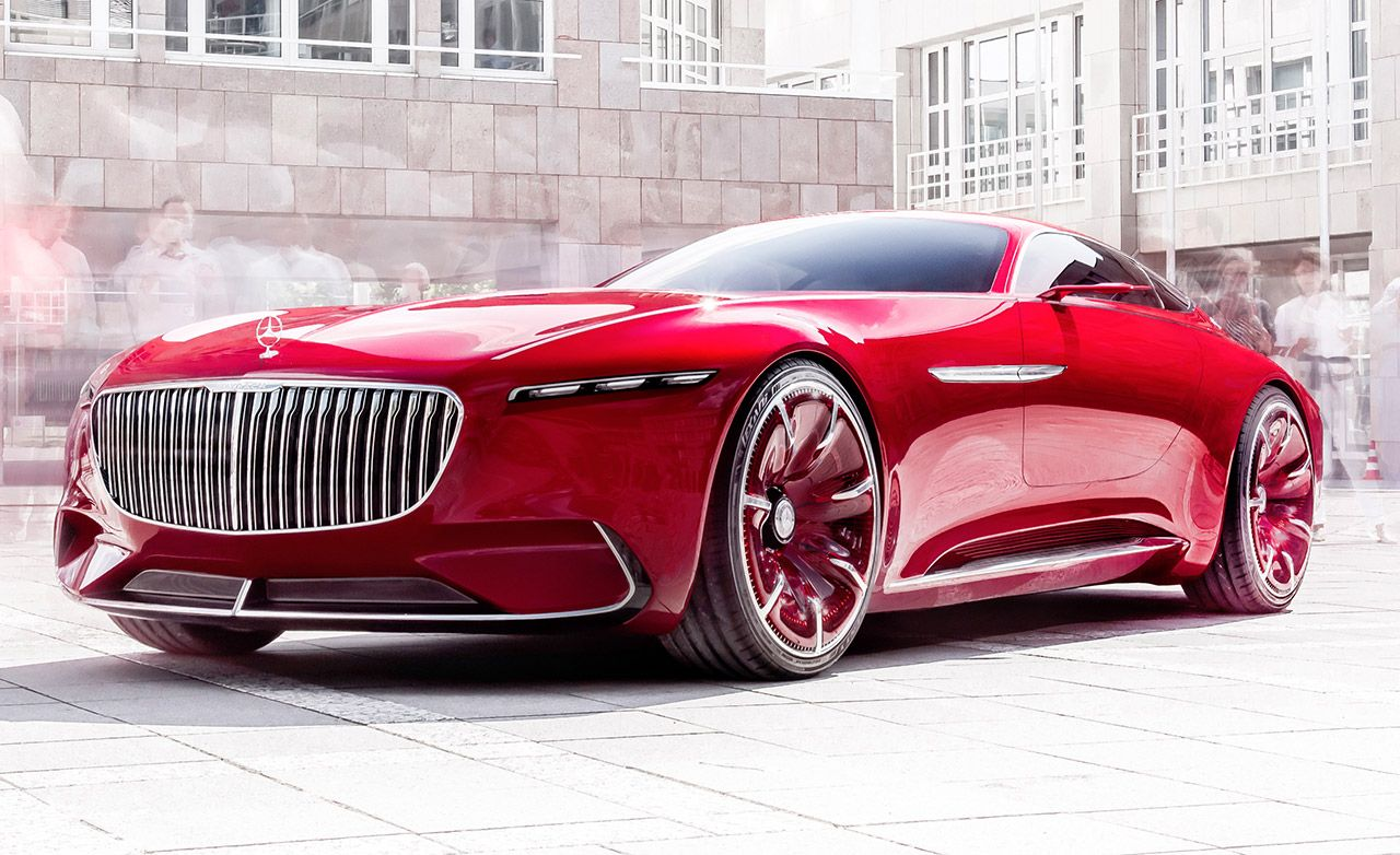 Mercedes-Maybach 6 Concept Dissected: Design, Powertrain, Interior, and More