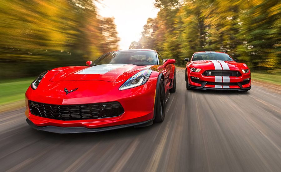 Chevrolet Corvette Grand Sport and Ford Mustang Shelby GT350/GT350R ...