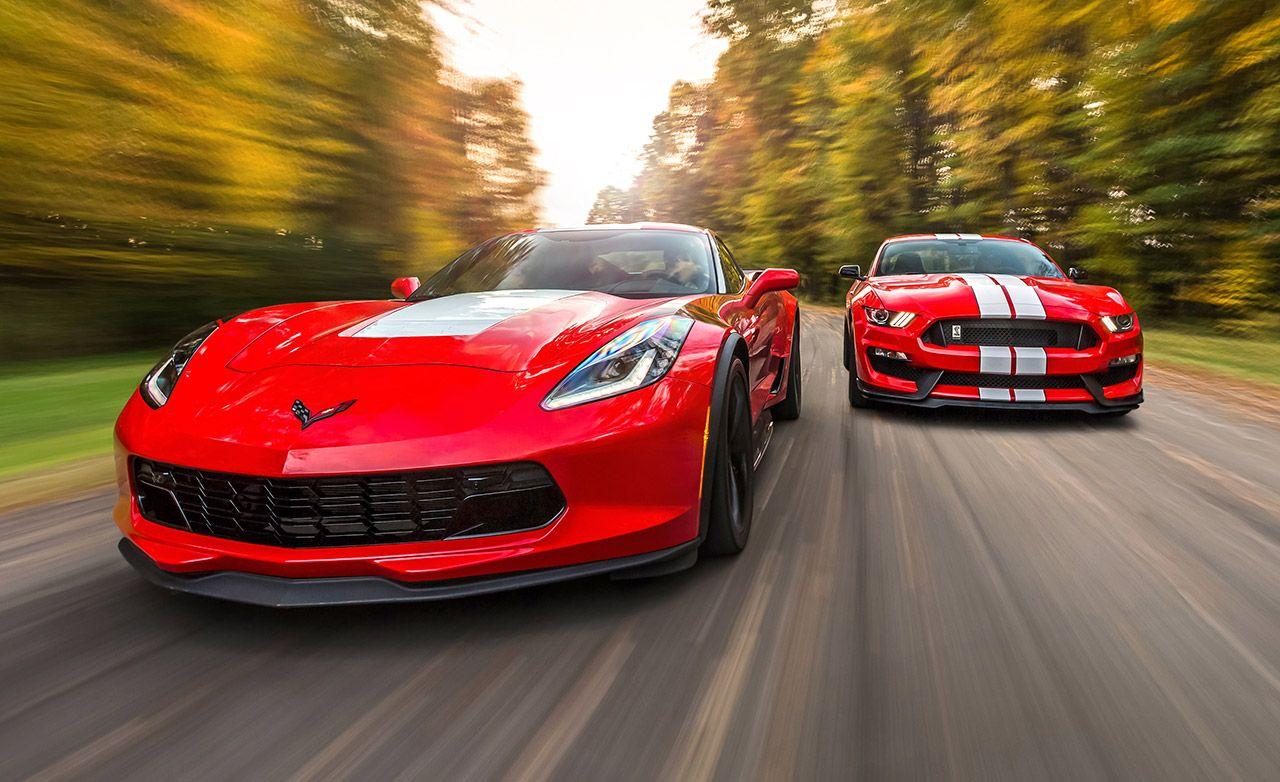 2017 10Best Cars Chevrolet Corvette Grand Sport and Ford Mustang Shelby GT350 / GT350R & Chevrolet Corvette Grand Sport and Ford Mustang Shelby GT350 ... markmcfarlin.com