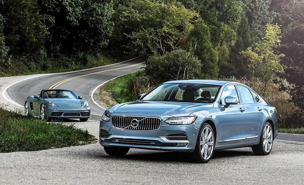Fours To Be Reckoned With: The Volvo S90 and Porsche's 718 Sports Cars Provide Insight Into the Downsized Future