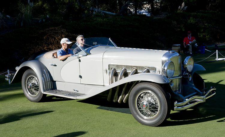 Driving Gary Cooper's 1935 Duesenberg SSJ