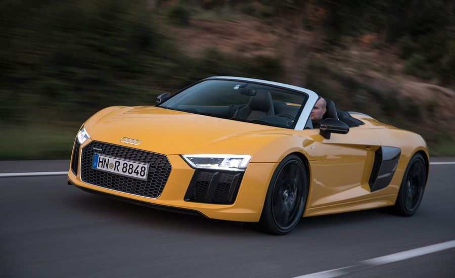 Audi R Spyder First Drive Review Car And Driver - Audi r8 convertible