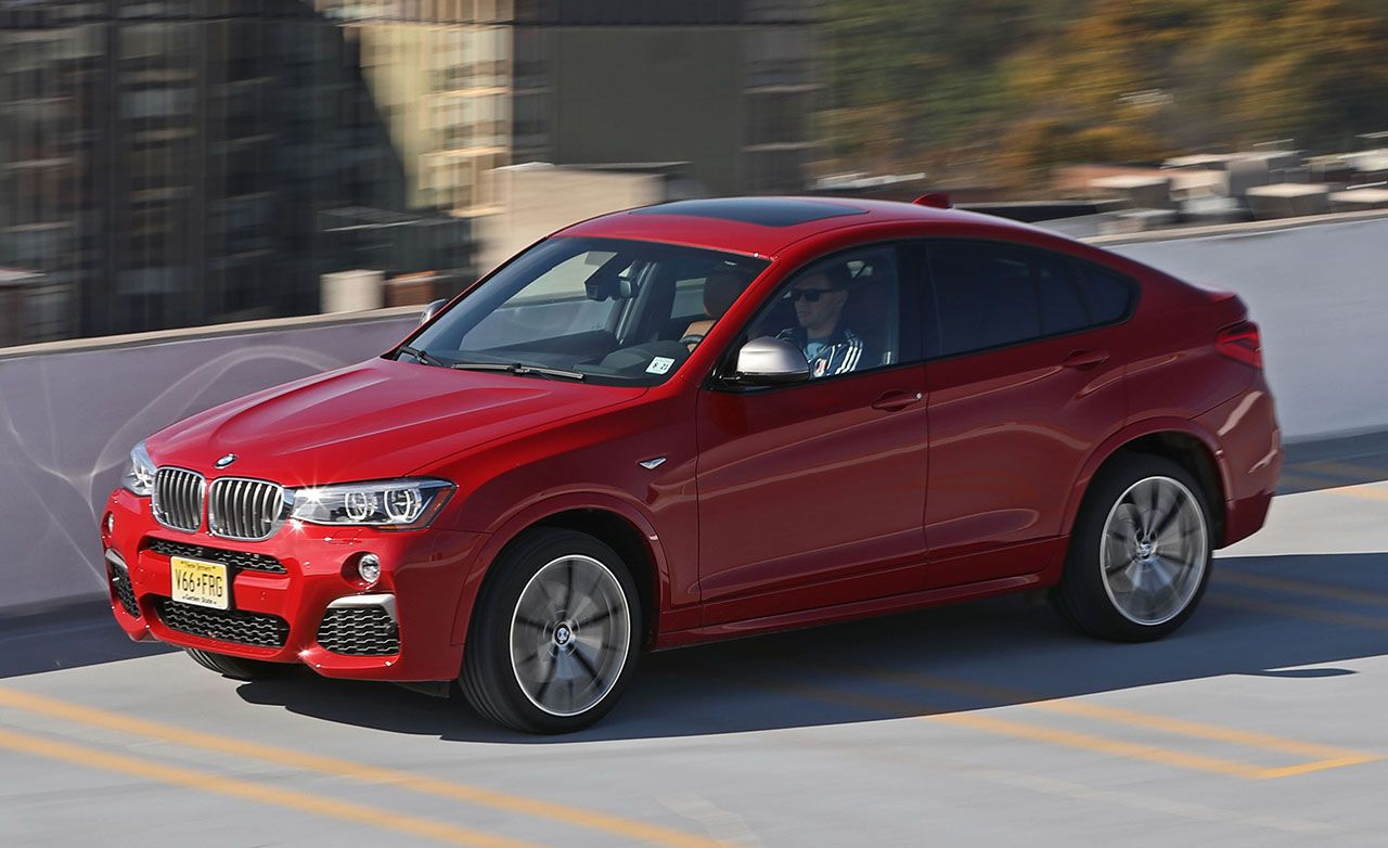 2015 BMW X4 XDrive35i Test