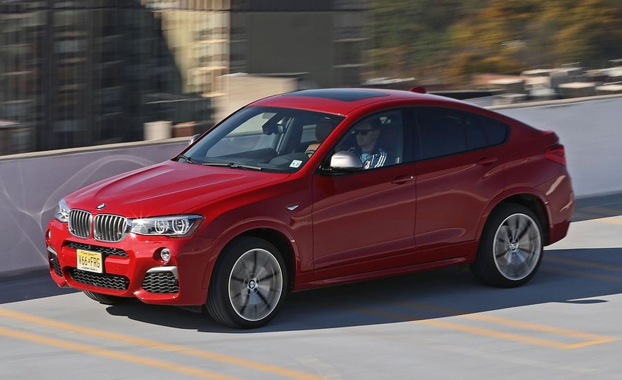 2017 Bmw X4 M40i Test Review Car And Driver