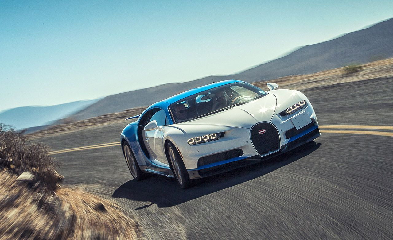 2017 Bugatti Chiron First Ride Review Car And Driver