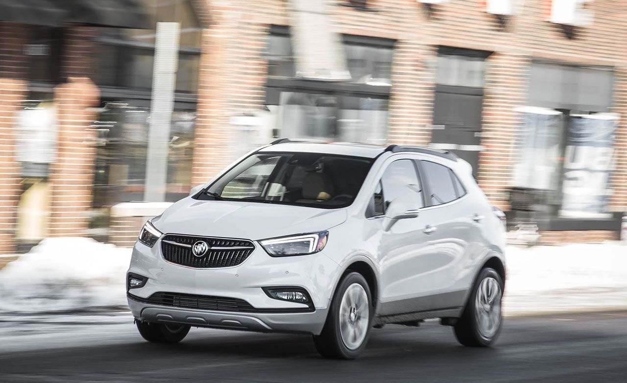 reviews awd road suv buick encore driving test review premium