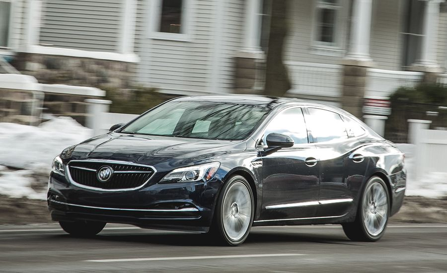 Buick LaCrosse AWD Test Review Car And Driver - Cool cars awd