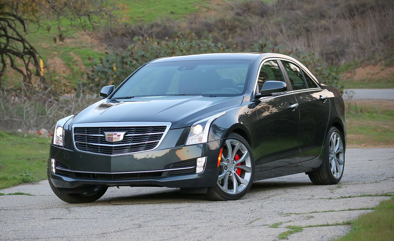 2017 Cadillac ATS Sedan V-6 Test