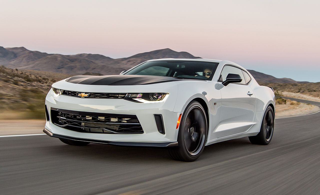 2017 Chevrolet Camaro V 6 1le First Drive Review Car